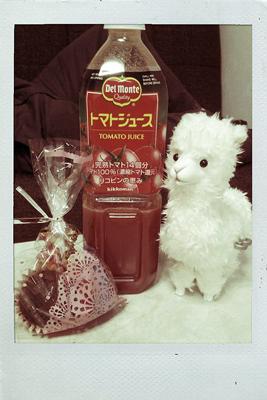 バレンタインとトマト